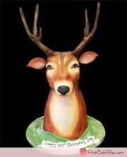 Deer Bust Cake