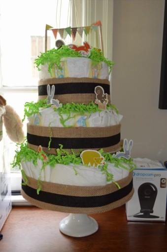 16. diaper cake
