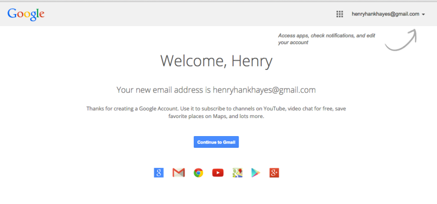 henry's email