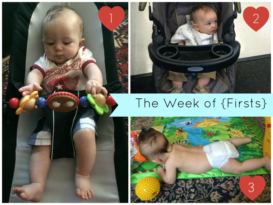 week of firsts